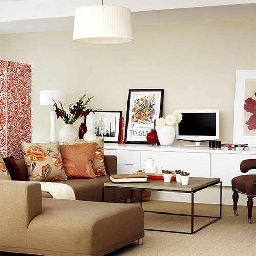 Living Room Low Furniture: Lifestyle In Blog: Ideas For Small Space