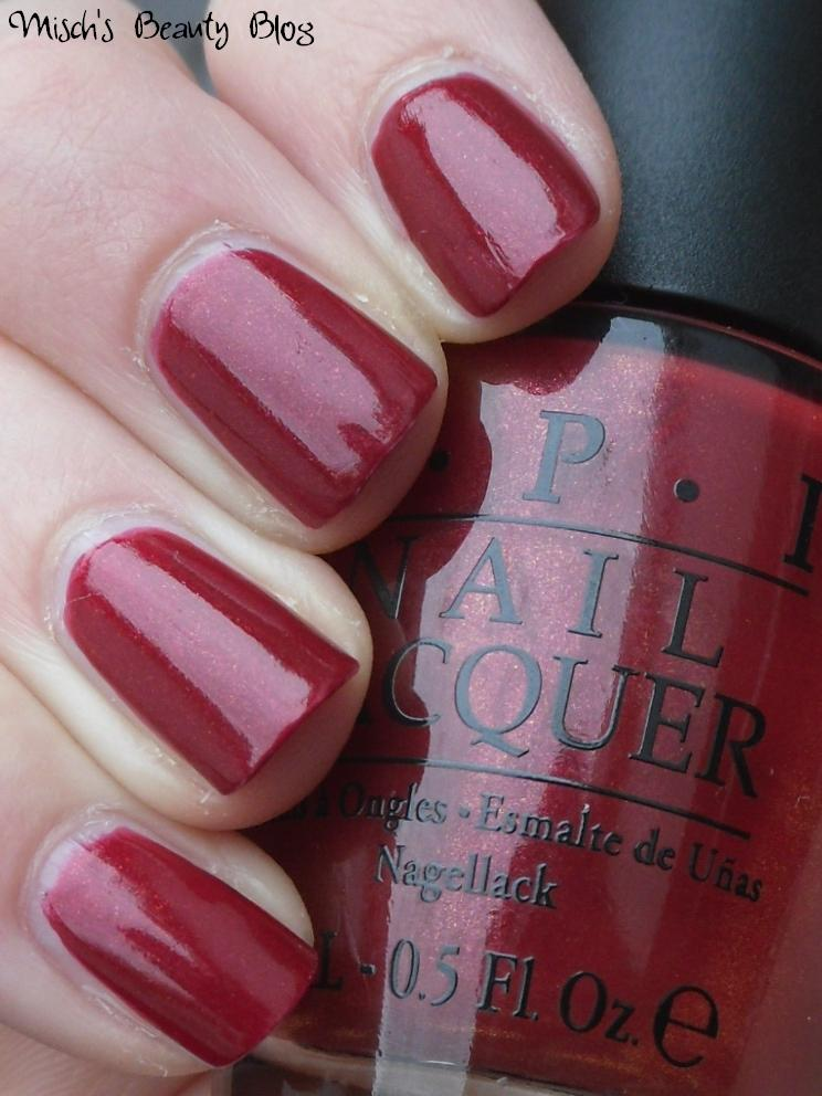 Opi Color To Diner For Misch's Bea...