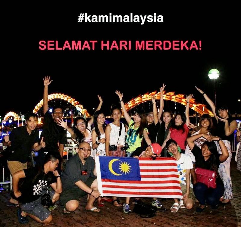 Kami Malaysia, Selamat Hari Merdekv Ke-57, Da Nang, Vietnam, Danang International Marathon 2014, My Khe Beach, Ala Carte Hotel, Sky36, Hoi An