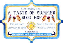 Taste of Summer blog hop
