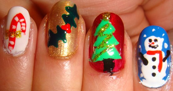 Christmas Nail Art Gallery