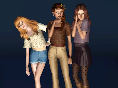 Summer Layered Shirts by Monstrcookie Screenshot-11