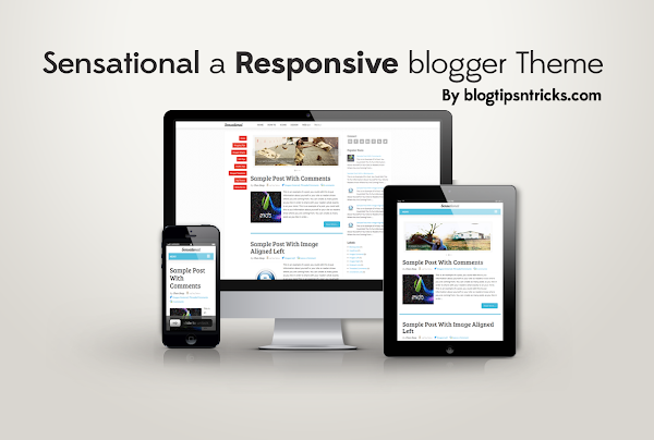 Sensational Blogger Template