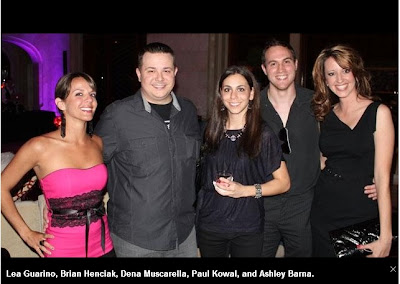 Lea Guarino, Brian Henciak, Dena Muscarella, Paul Kowal, Ashley Barna, Casino for a Cure, Pittsburgh, 50 Finest