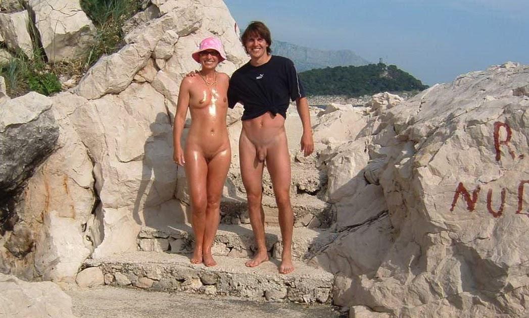 nudist video clips beach