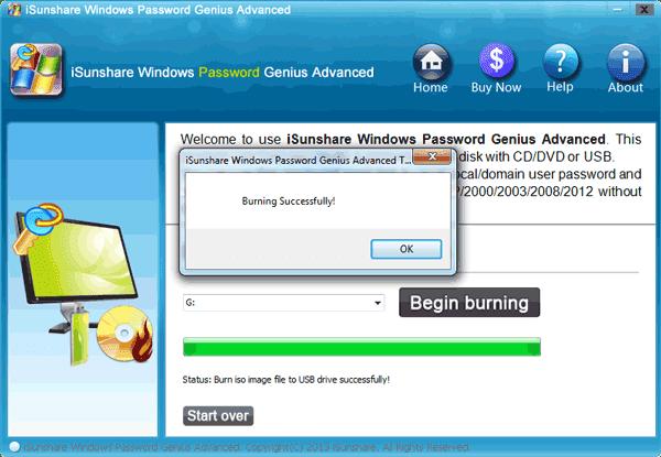 create windows 8.1 password reset disk with tool