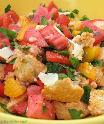 ... Chicken Chick®: Panzanella, Tomato Bread Salad. The taste of summer