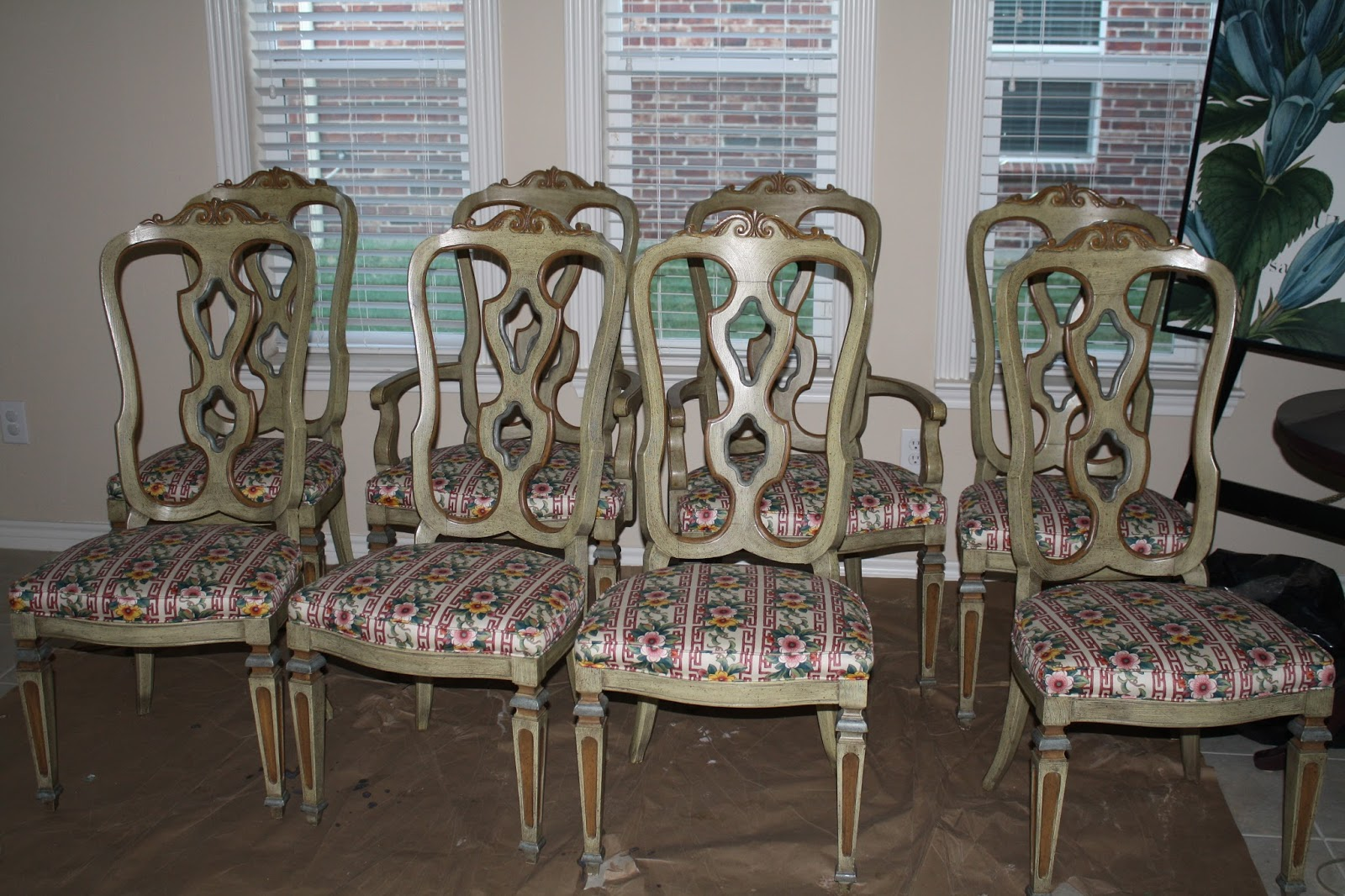 A Nugget and a Doodle: Dining Room Chair Makeover