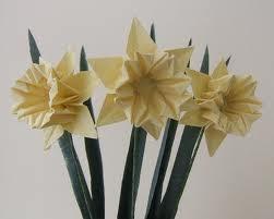 How To Make Origami Daffodil Flower