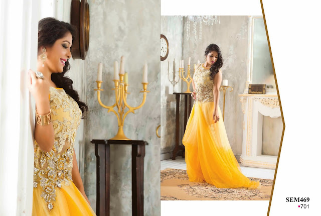 Buy Exclusive Designer Net Gown – Wholesaler Supplier