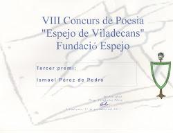 Concurso poesia, noviembre 2011