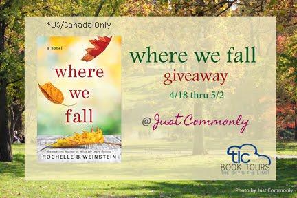 Where We Fall Giveaway thru 5/2