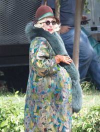 Lady Gaga Embarazada en American Horror Story circulan fotos
