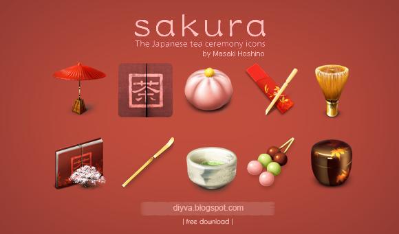 sakura, icons, free, download, gratis