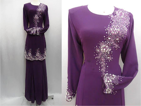 Kurung Bersulam Cantik Menawan. Ready Stock. Ready to post.