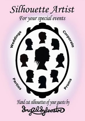 Silhouette Cutting at Events by Ingrid Sylvestre