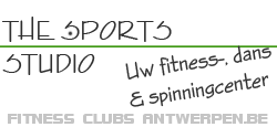 fitness centrum club THE SPORTS STUDIO Antwerpen fitness powertraining body-building groepslessen zumba yoga afslankprogramma massage sauna