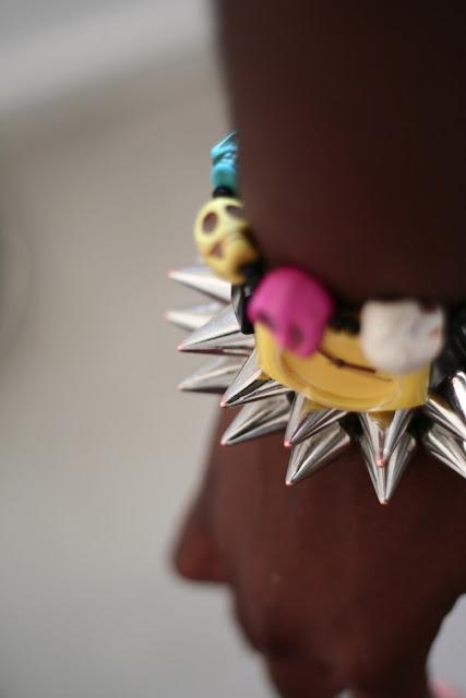 armswag armcandy braceletpic bracelettetedemort braceletskulls DIY Nail Art & MYWATCHY