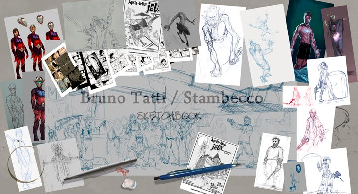 B .Tatti / Stambecco  sketchbook