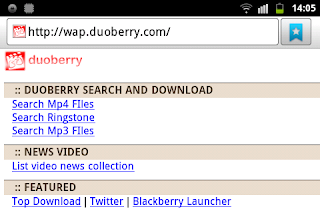 WAP Duoberry Video Player & Downloader