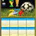 Calendário Copa do Mundo 2014
