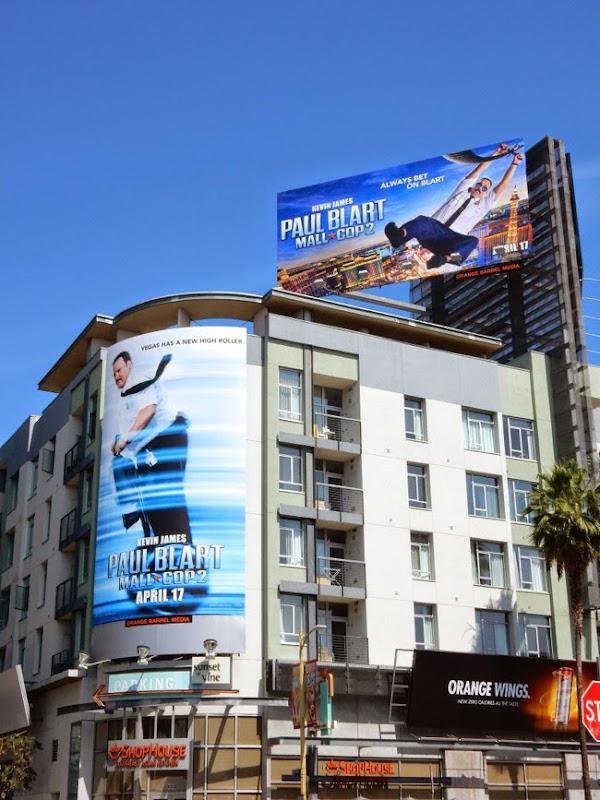 Paul Blart Mall Cop 2 movie billboards
