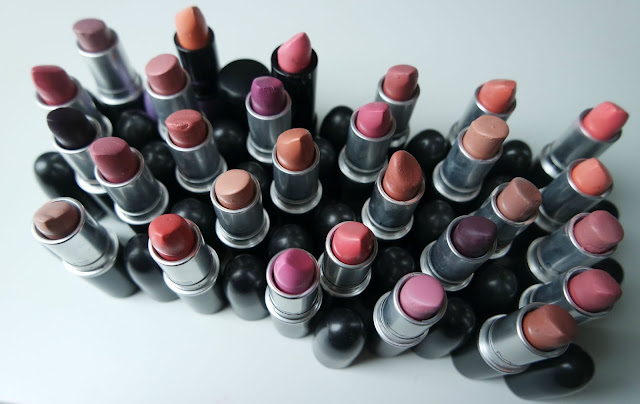 MAC Lipstick Collection 2015