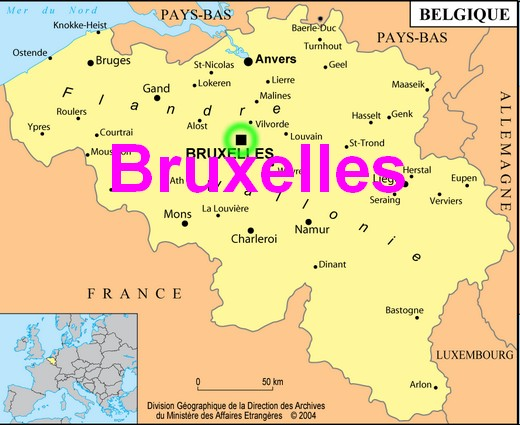 bruxelle belgique carte tonaartsenfotografie. Black Bedroom Furniture Sets. Home Design Ideas