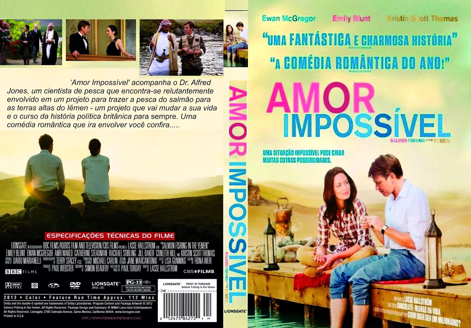 Amor Impossível (Salmon Fishing in the Yemen) Torrent - Dual Áudio (2012)
