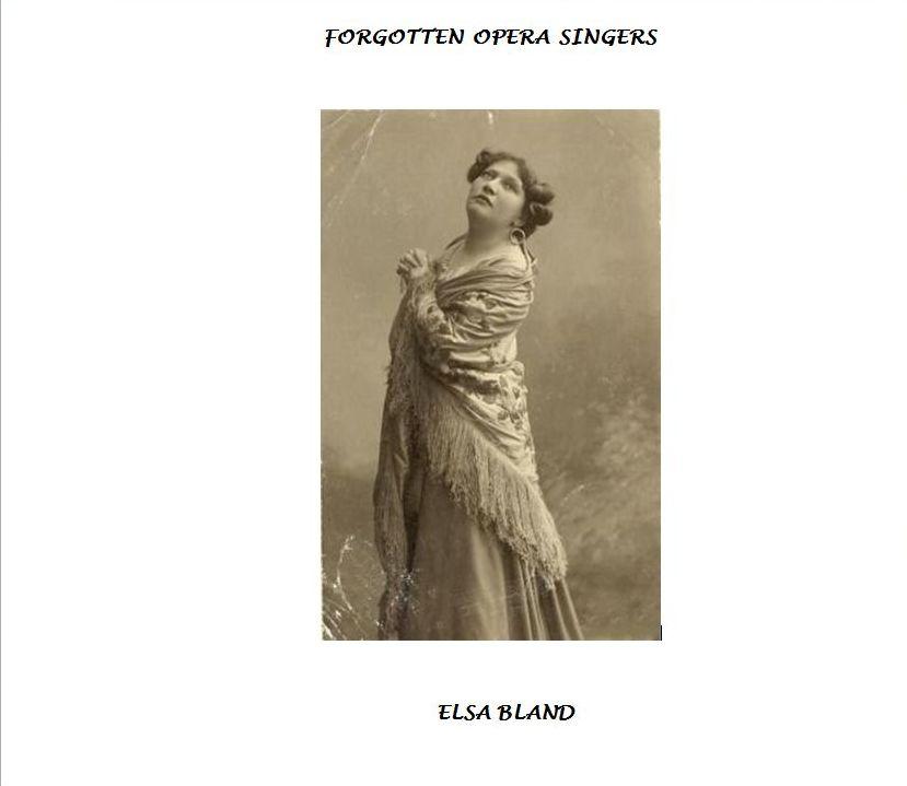 ELSA BLAND (1880-1935) CD