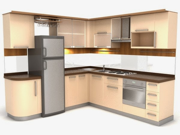Foundation Dezin & Decor...: Kitchen 3D Model.