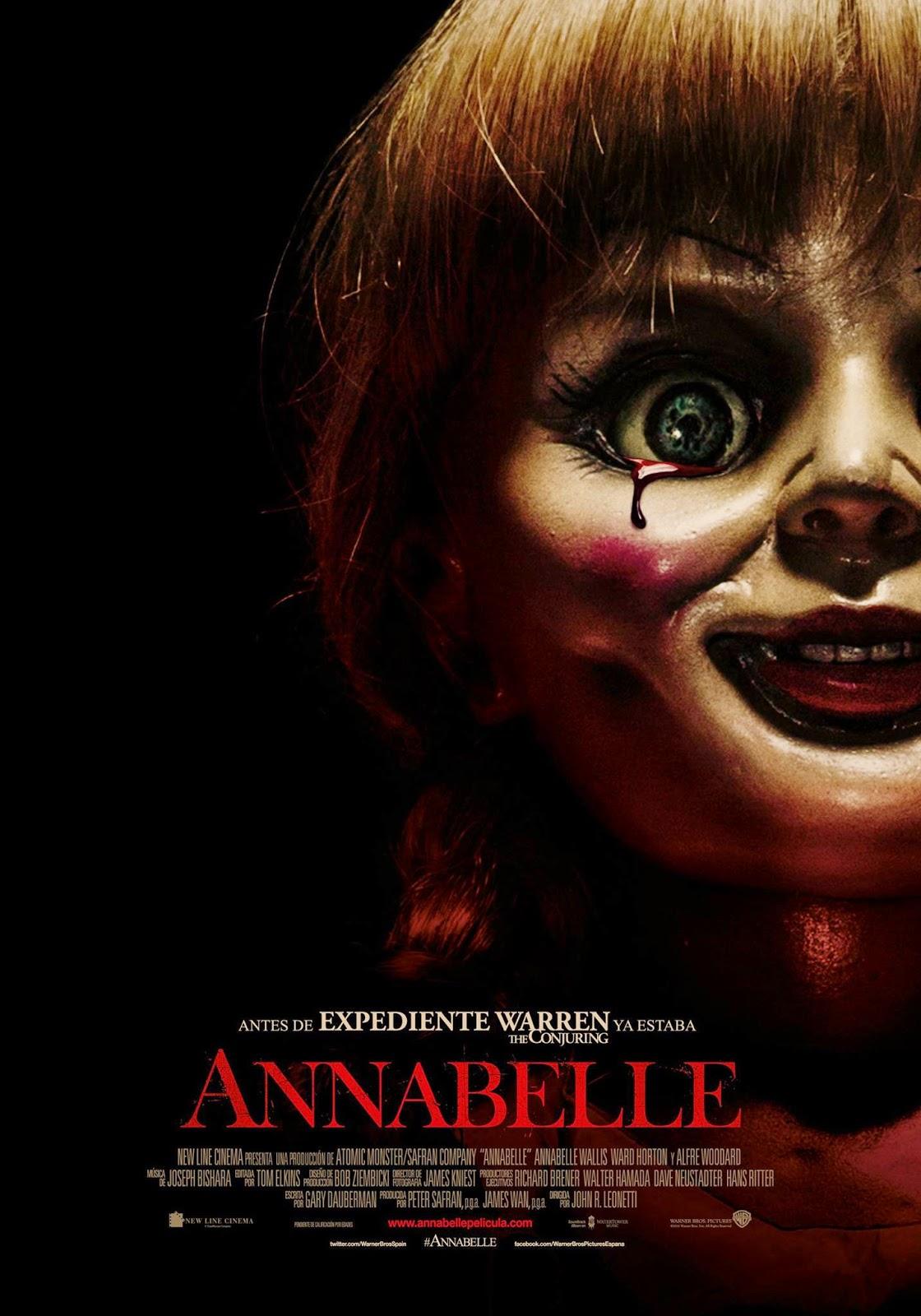 Annabelle, expediente Warren, miedo, el zorro con gafas