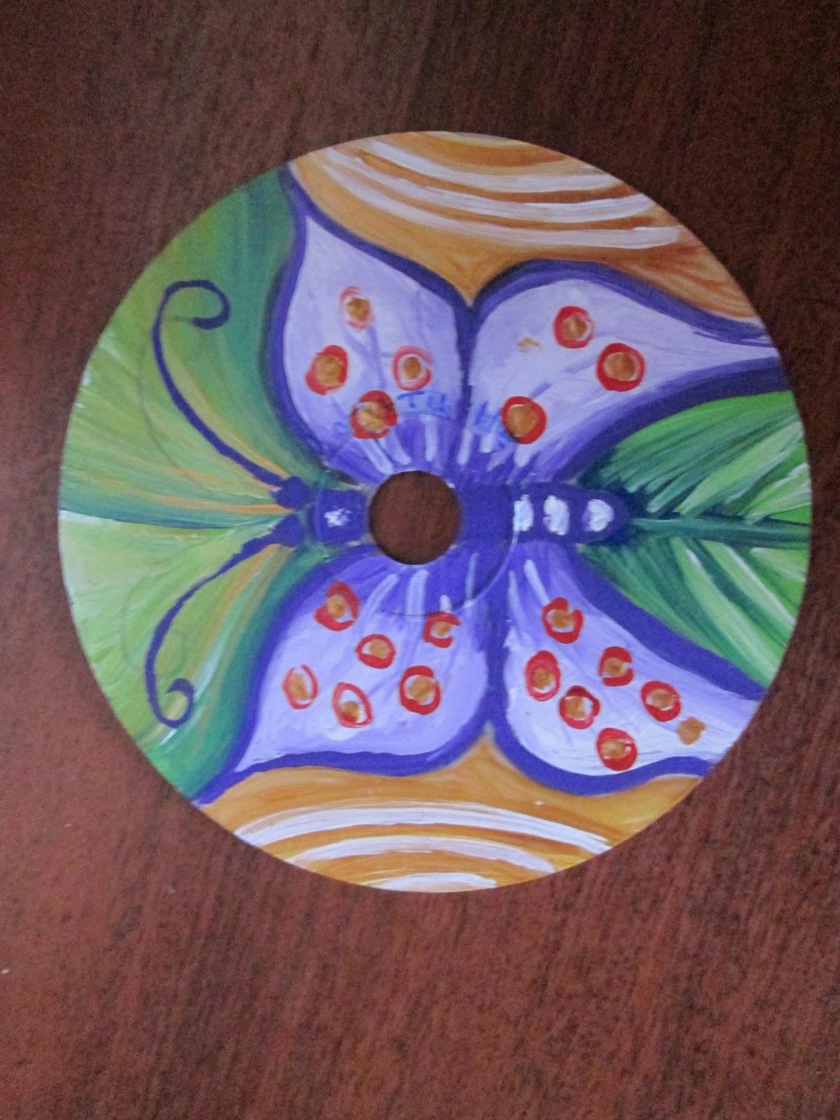 Manualidades mafer manualidades con cds reciclados - Manualidades con cd usados ...