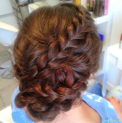 fryzura ślubna 39