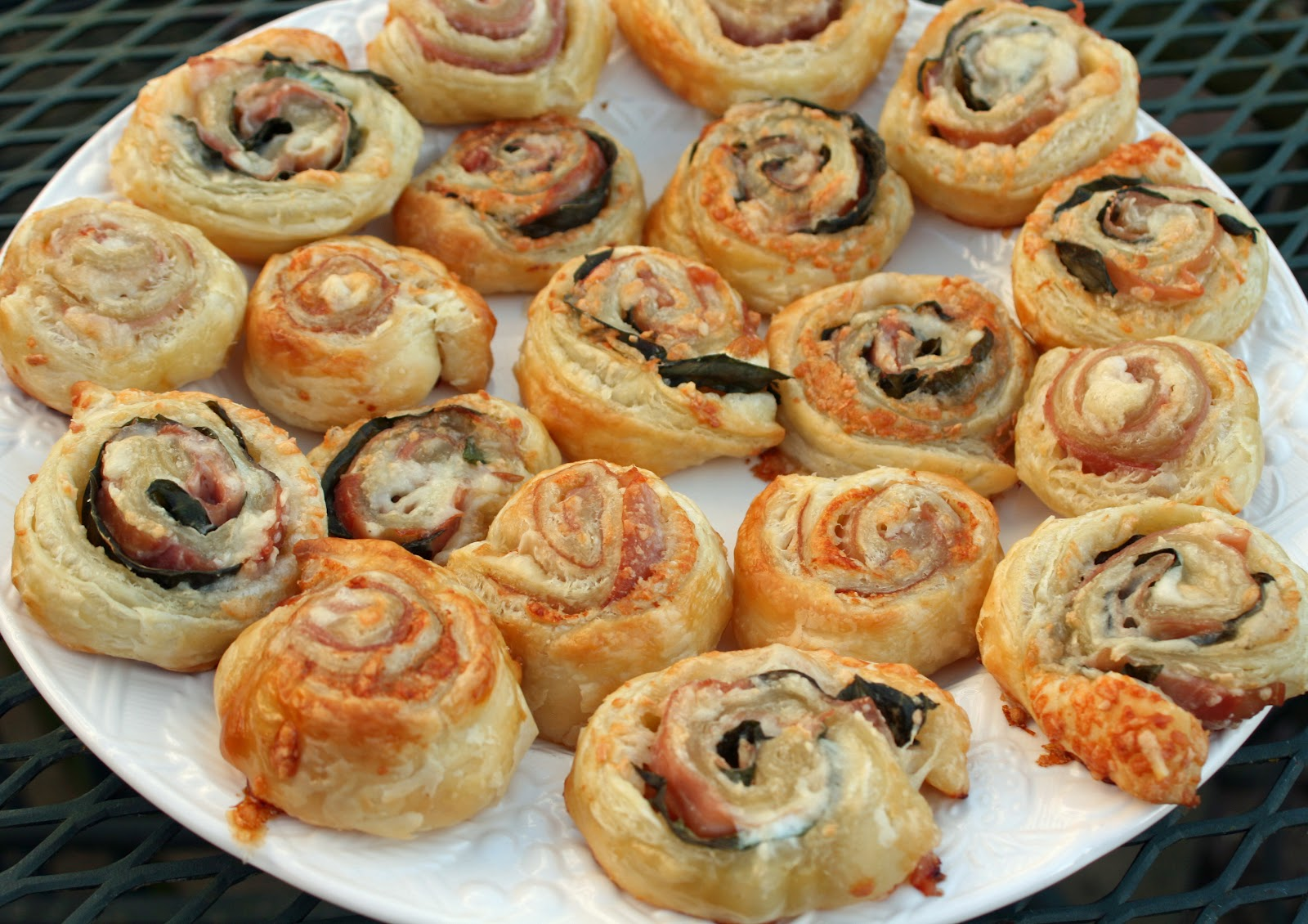 Food and Garden Dailies: Puff Pastry Pinwheels with Prosciutto and ...