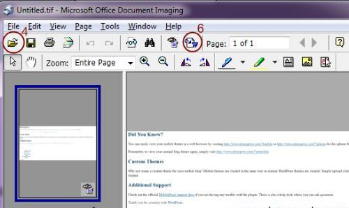 microsoft office imaging download