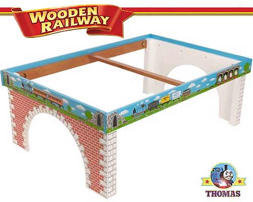 table Thomas the engine train table kids furniture playboard top