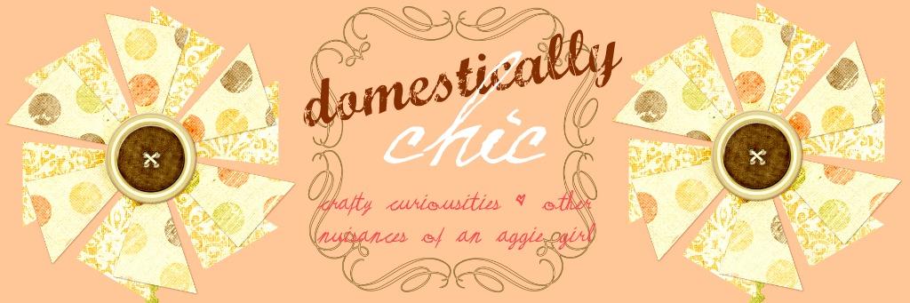 Domestically Chic