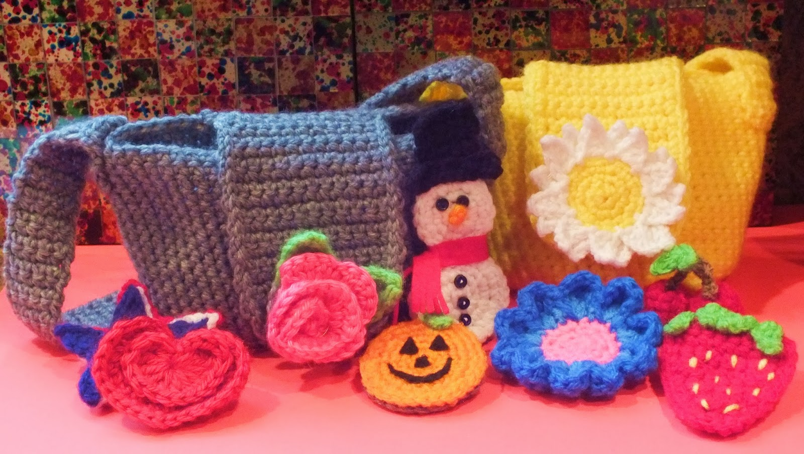 Crochet Easter Bag Pattern : Connies Spot? Crocheting, Crafting, Creating!: Little ...