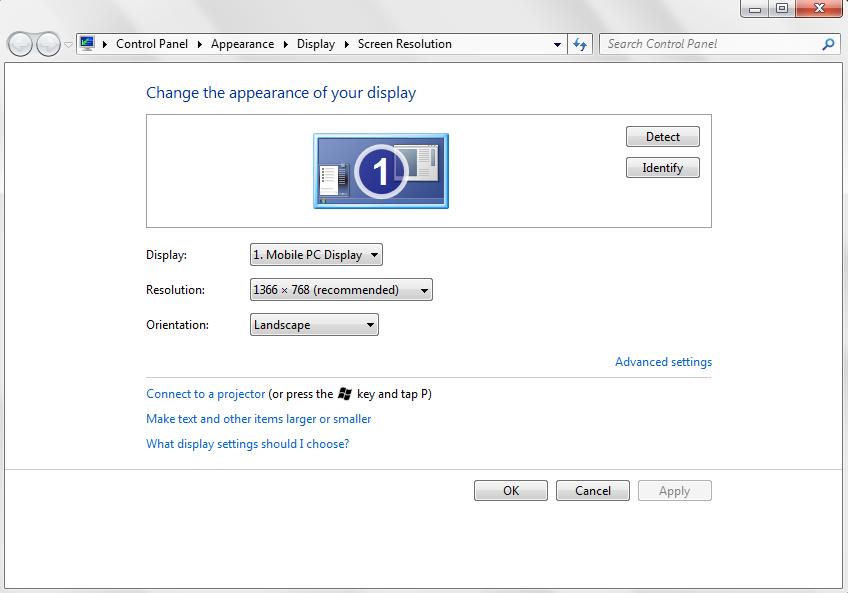 Cara Mengatasi Tampilan Display Windows 7 XP Terlalu