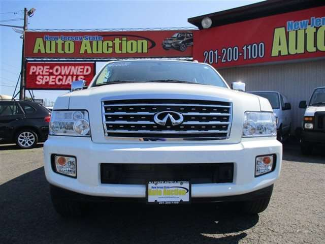 Used One Owner 2008 Infiniti Qx56 4wd 4dr 4x4 Suv Serving Jersey
