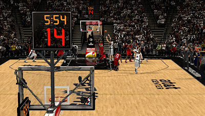 NBA 2K13 AT&T Center Court Patches