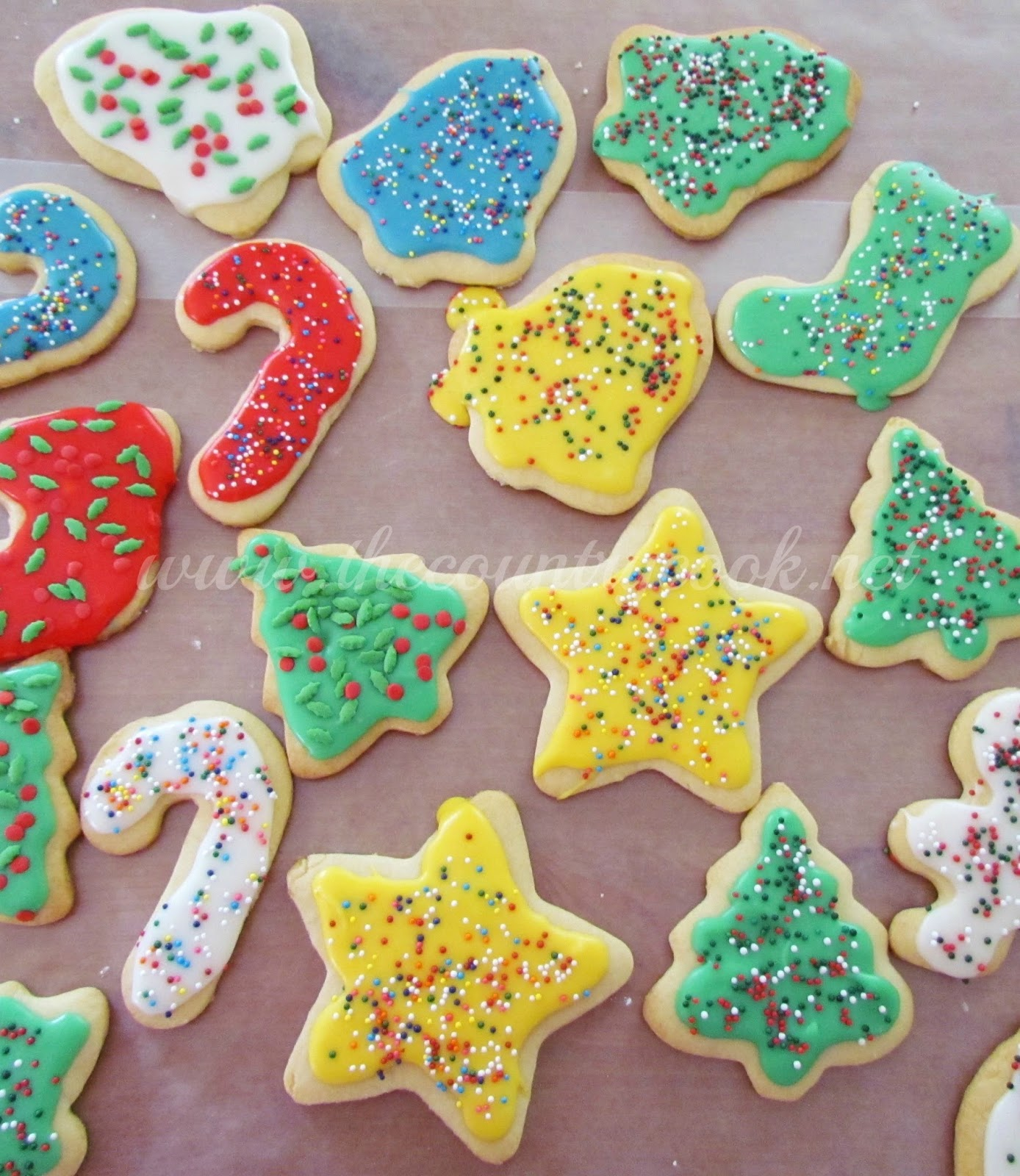 Cut Out Sugar Cookies The Country Cook