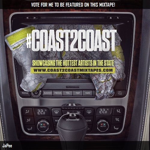 VOTE FOR @JAPEE305 TO BE FEATURED ON #COAST2COAST HOTTEST IN THE STATE MIXTAPE!