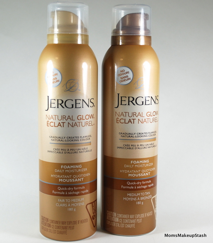 Jergens Natural Glow Foam For Face