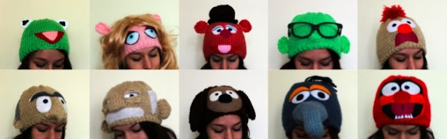 the muppets hats