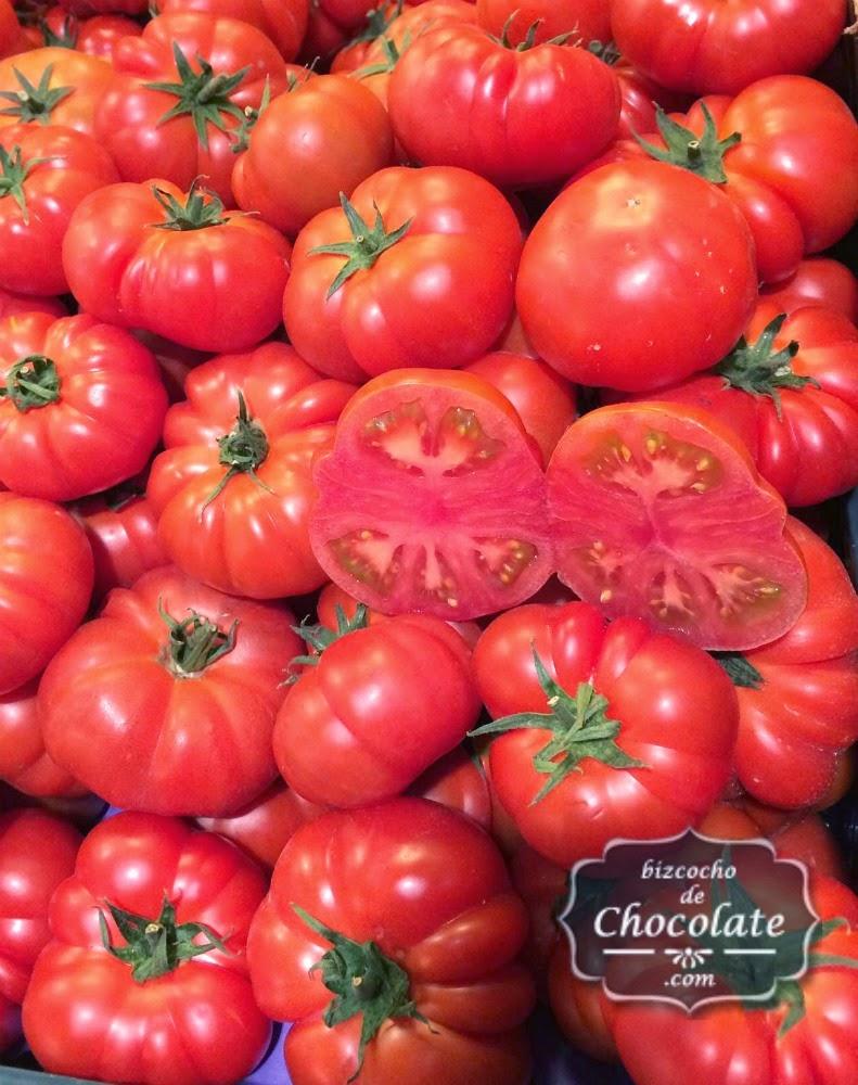 tomates del mercado