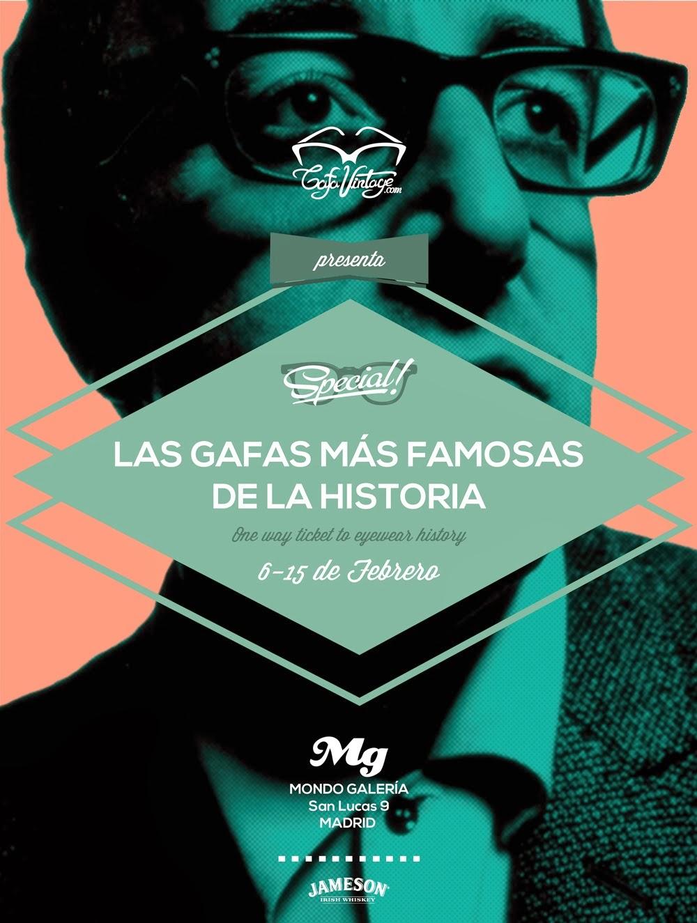 Mondo Galería - Las gafas más famosas de la historia