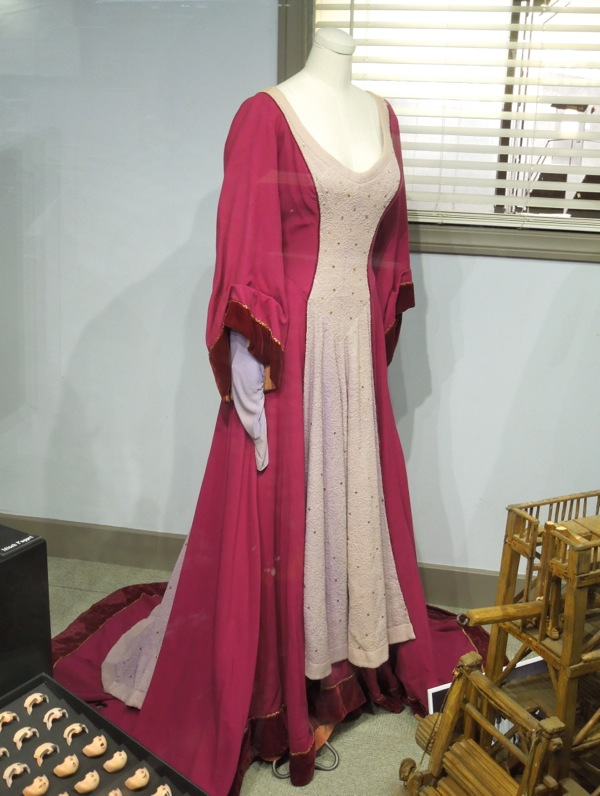 Maureen O'Hara Lady Godiva of Coventry gown
