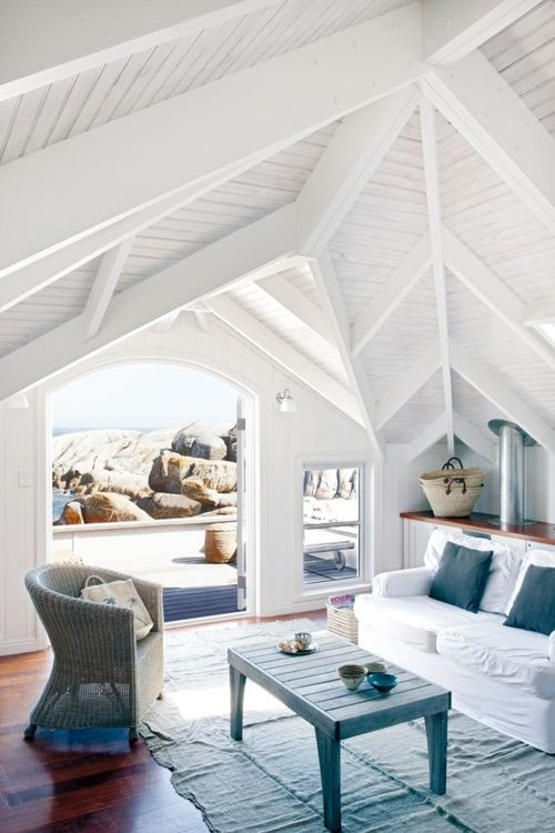 Coastal style 5 decorating tips for beach house style for Beach cottage style decor